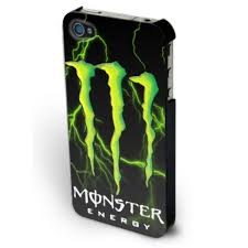 coque Iphone 4S MONSTER ENERGY