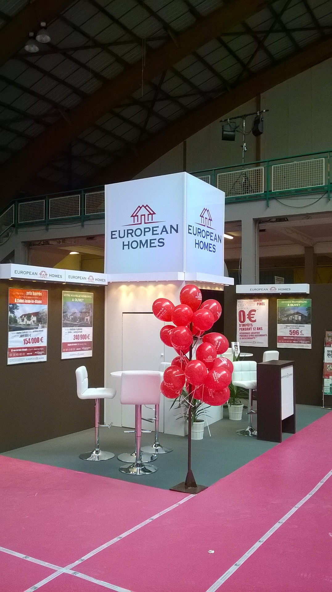 stand 18 m2