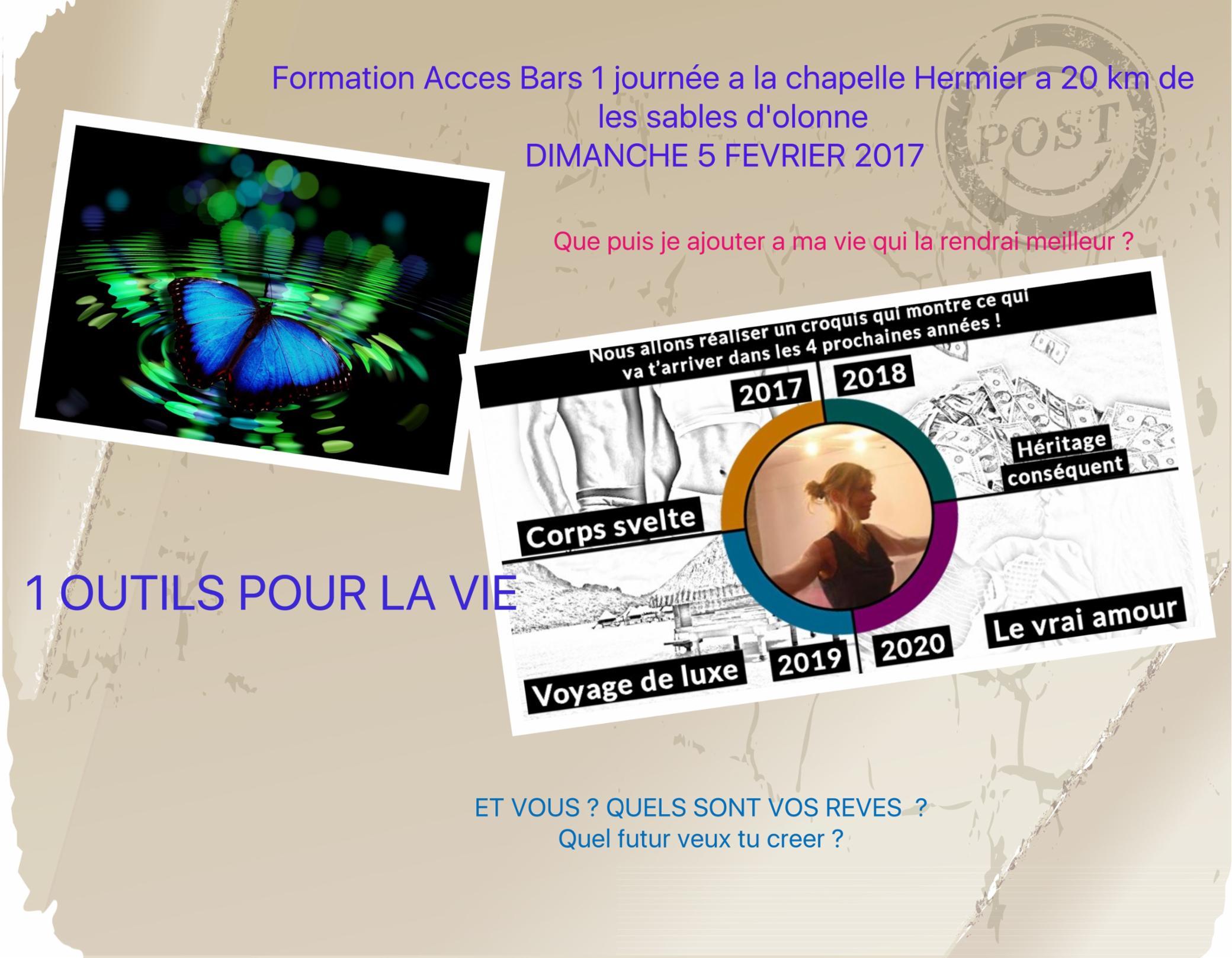 Formation Access Bars dimanche 5 fevrier 2017 la Chapelle Hermier 20 KM des sables d'olonne