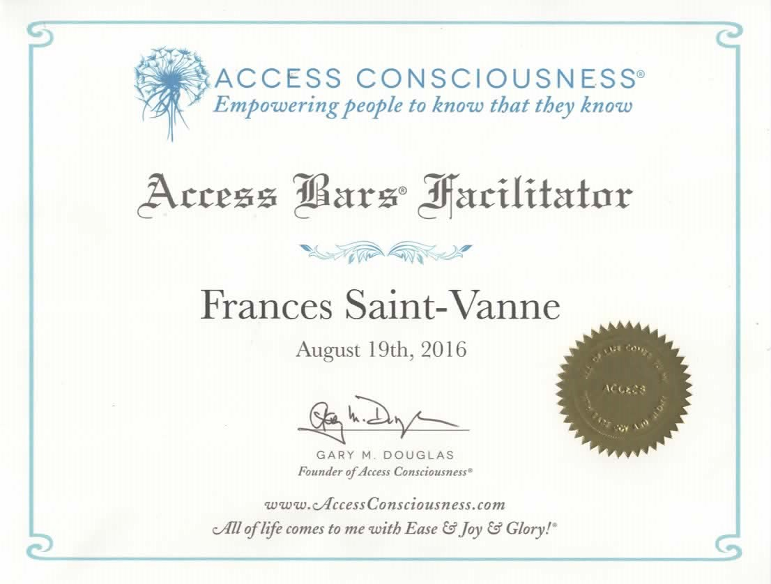 2 ARRÊT DU TABAC Access Bars Consciousness - relaxation anti-age Access bars craniens