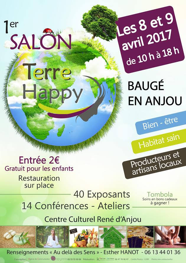 Salon Terre Happy 8 et 9 avril 2017
