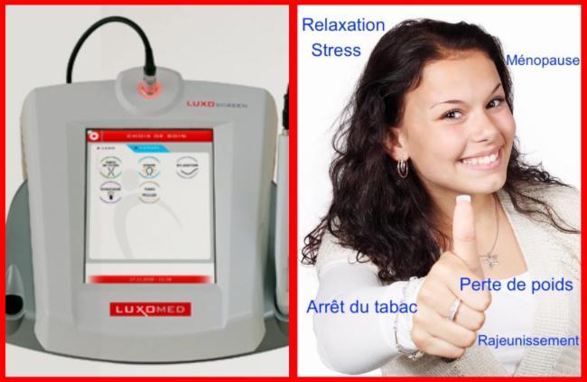 Réflexothérapie infrarouge ARRÊT DU TABAC Access Bars Consciousness - Perte de poids - arret du tabac
