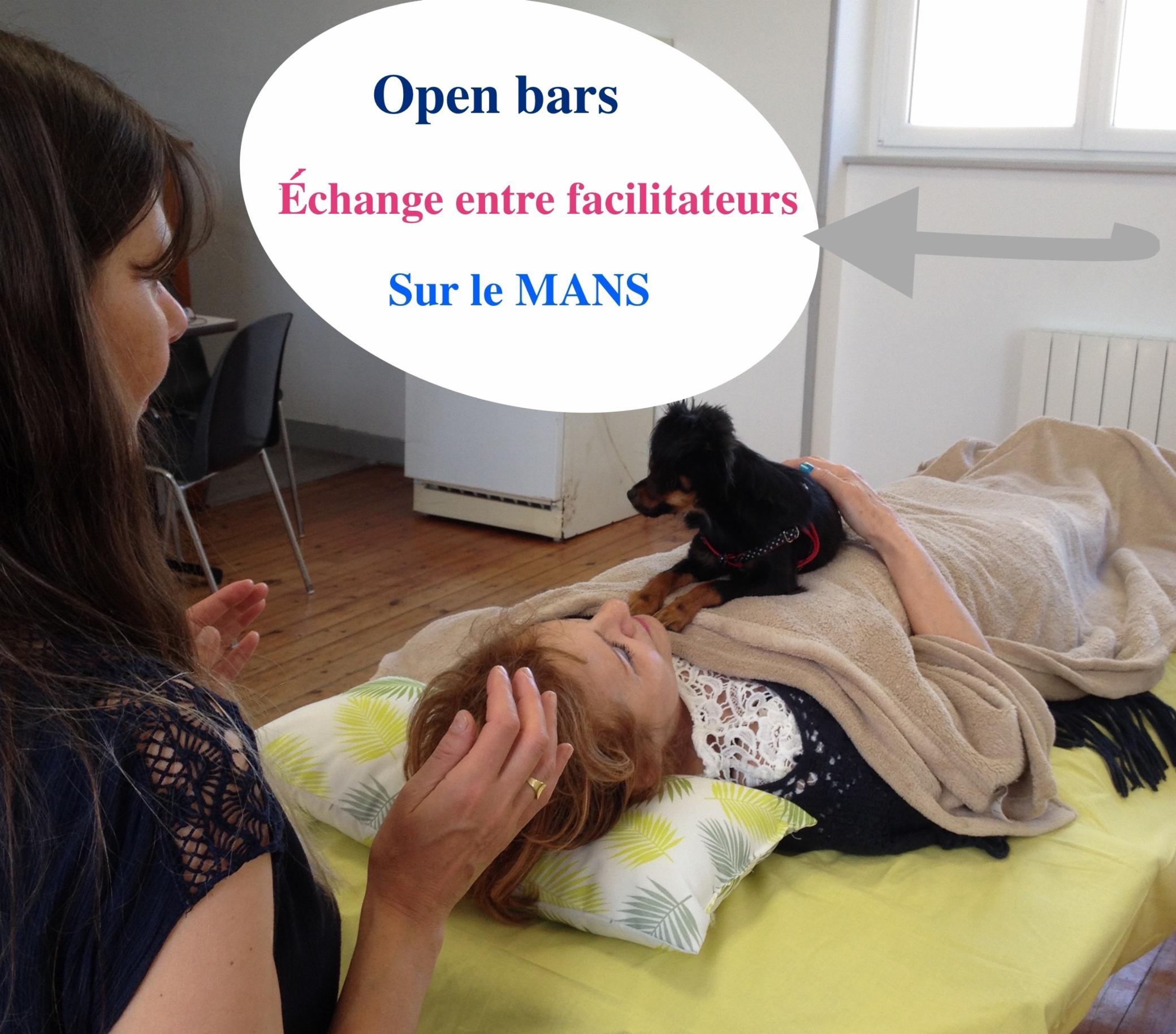 Découvrir les Open Bars d'Access Consciousness le 25 juin 2018 Le Mans relaxation anti-age