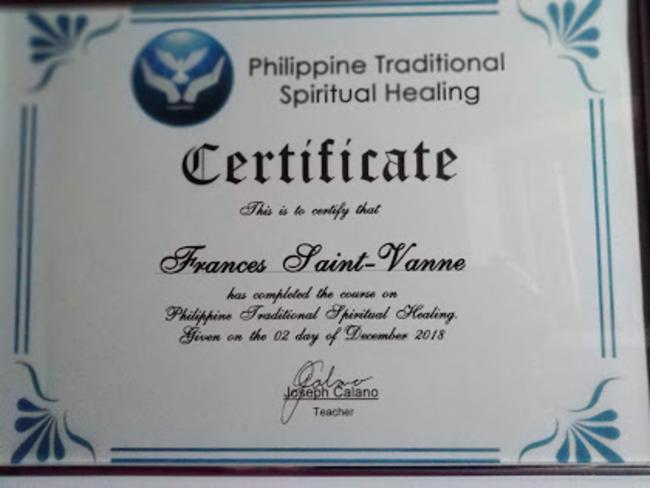 Certificat énergeticien spirituel niveau 1 relaxation Thérapie quantique : Access Bars, soin énergétique , Somathotérapie.