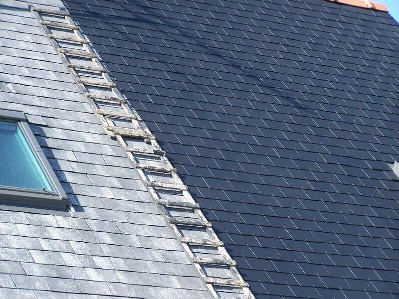 1 L'AS RENOV SAINT MANVIEU NORREY Nettoyage démoussage peinture toiture et façade Ramonage Ramonage