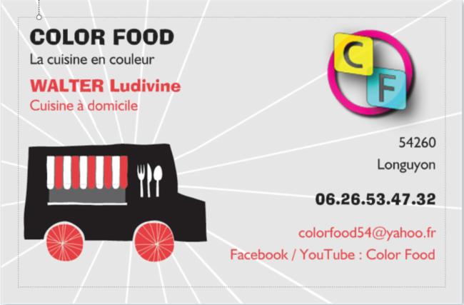 Color Food Longuyon manger cours cuisine