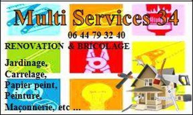MULTI SERVICES 34 MONTPELLIER Plombier Carreleur – Mosaïste Plaquiste - Plâtrier
