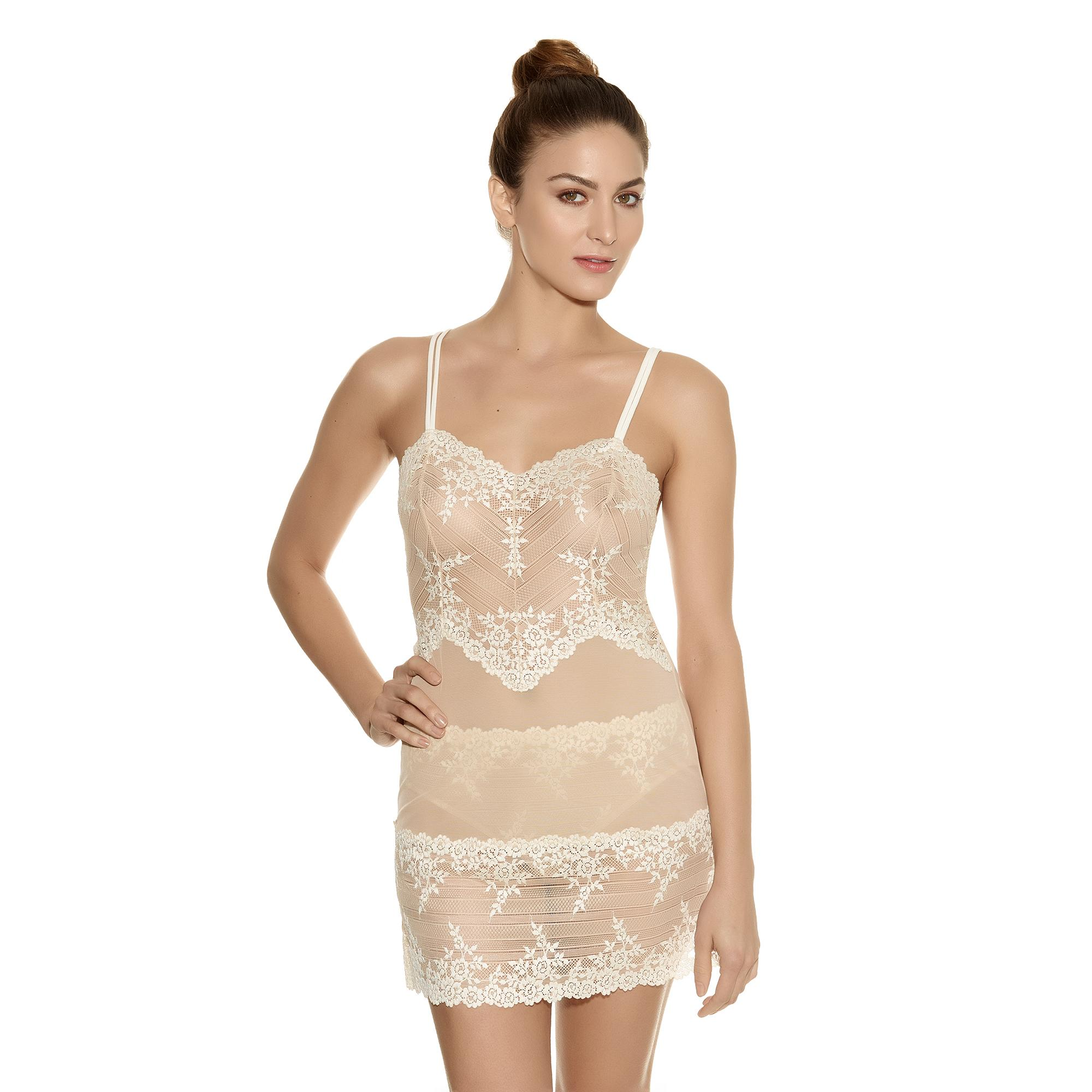 Wacoal EMBRACE-LACE Nuisette Beige/Blanc