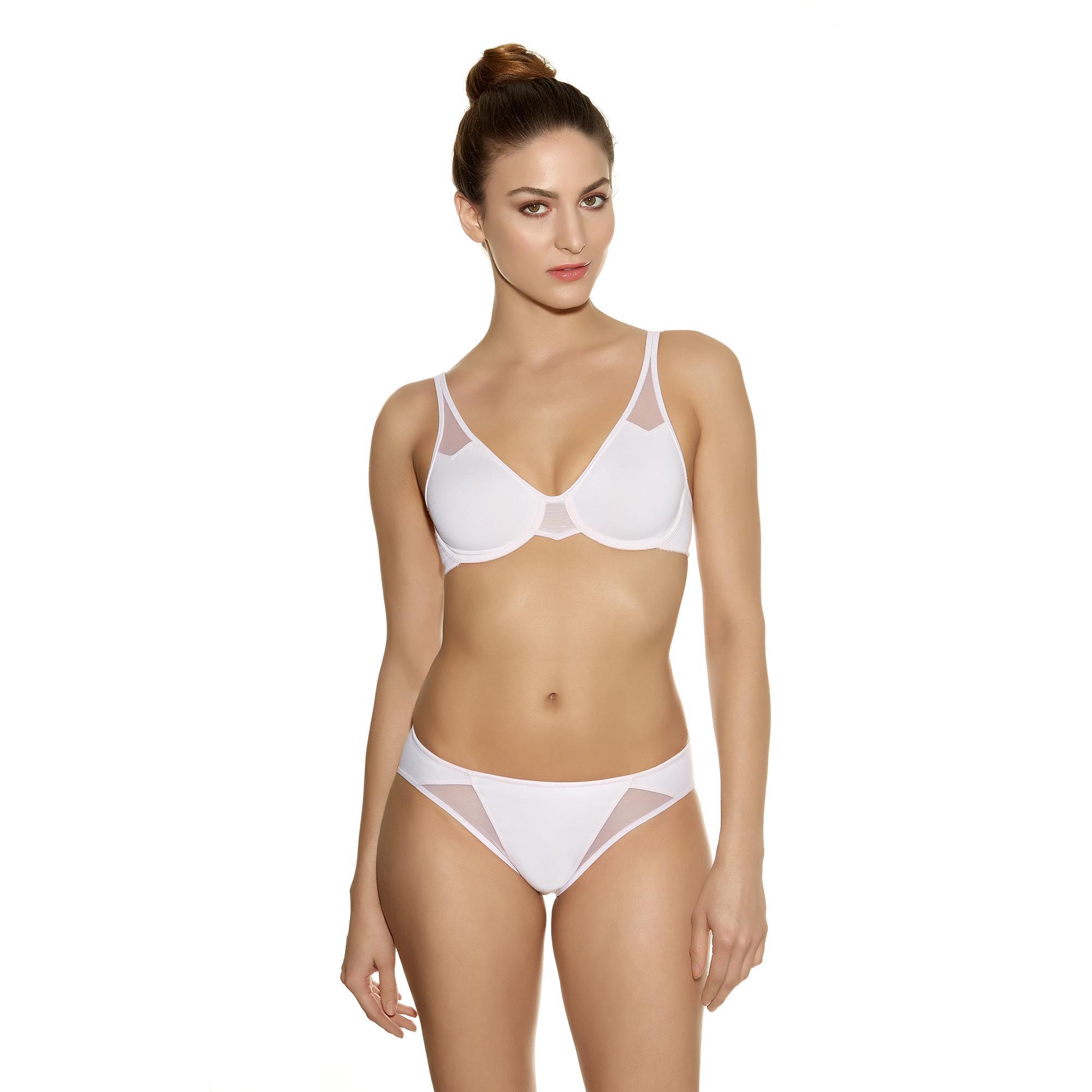 Wacoal Body Soutien-gorge + culotte simple blanc