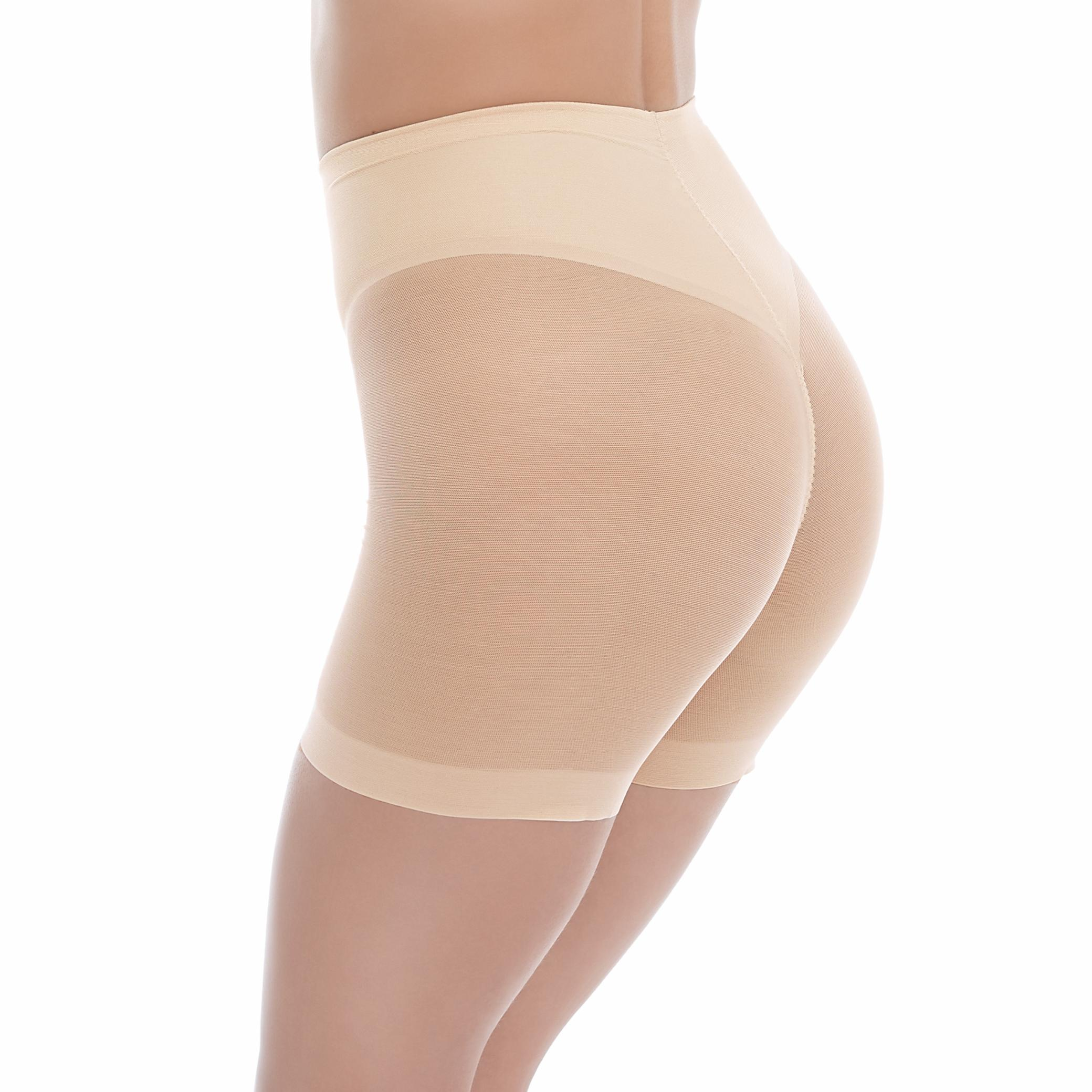wacoal ultimate side smoother shorty nude