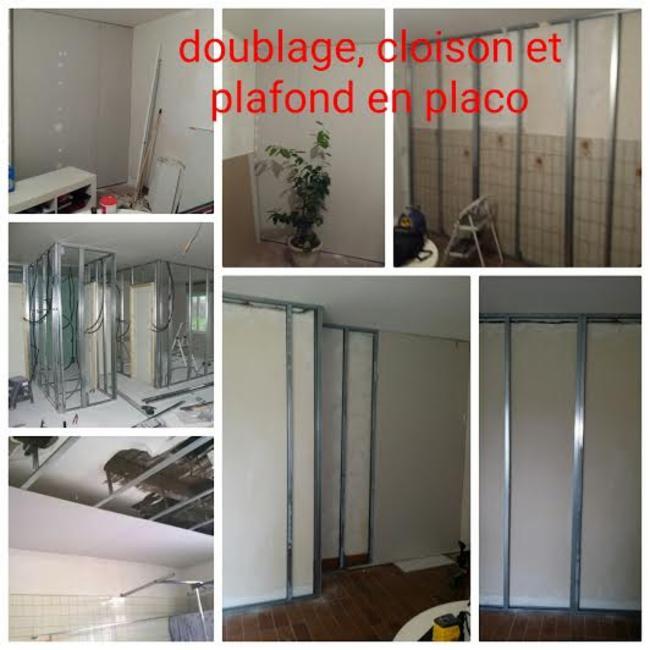 placo Plaquiste - Plâtrier MEM MULTISERVICES Plombier Peintre en bâtiment Menuisier