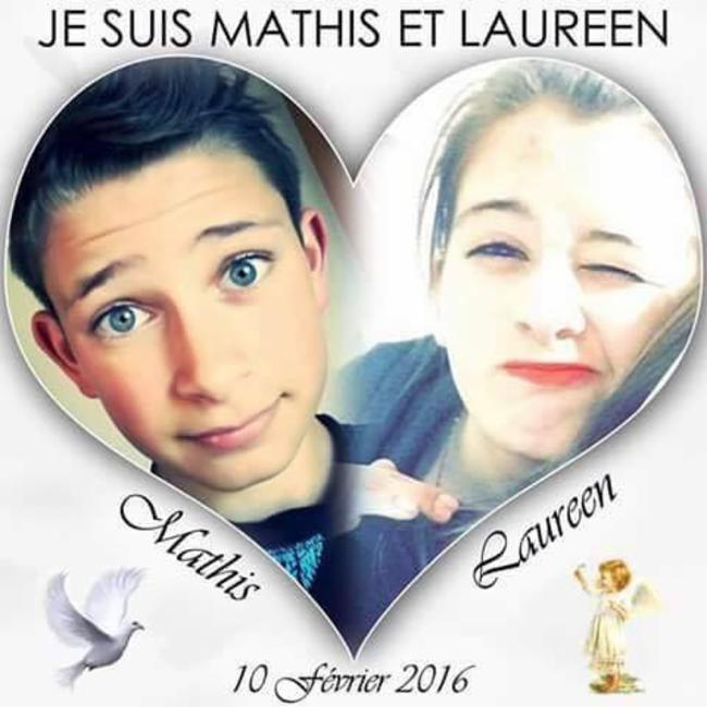 Hommage a Mathis & Laureen Hommage... Hommage... Hommage...