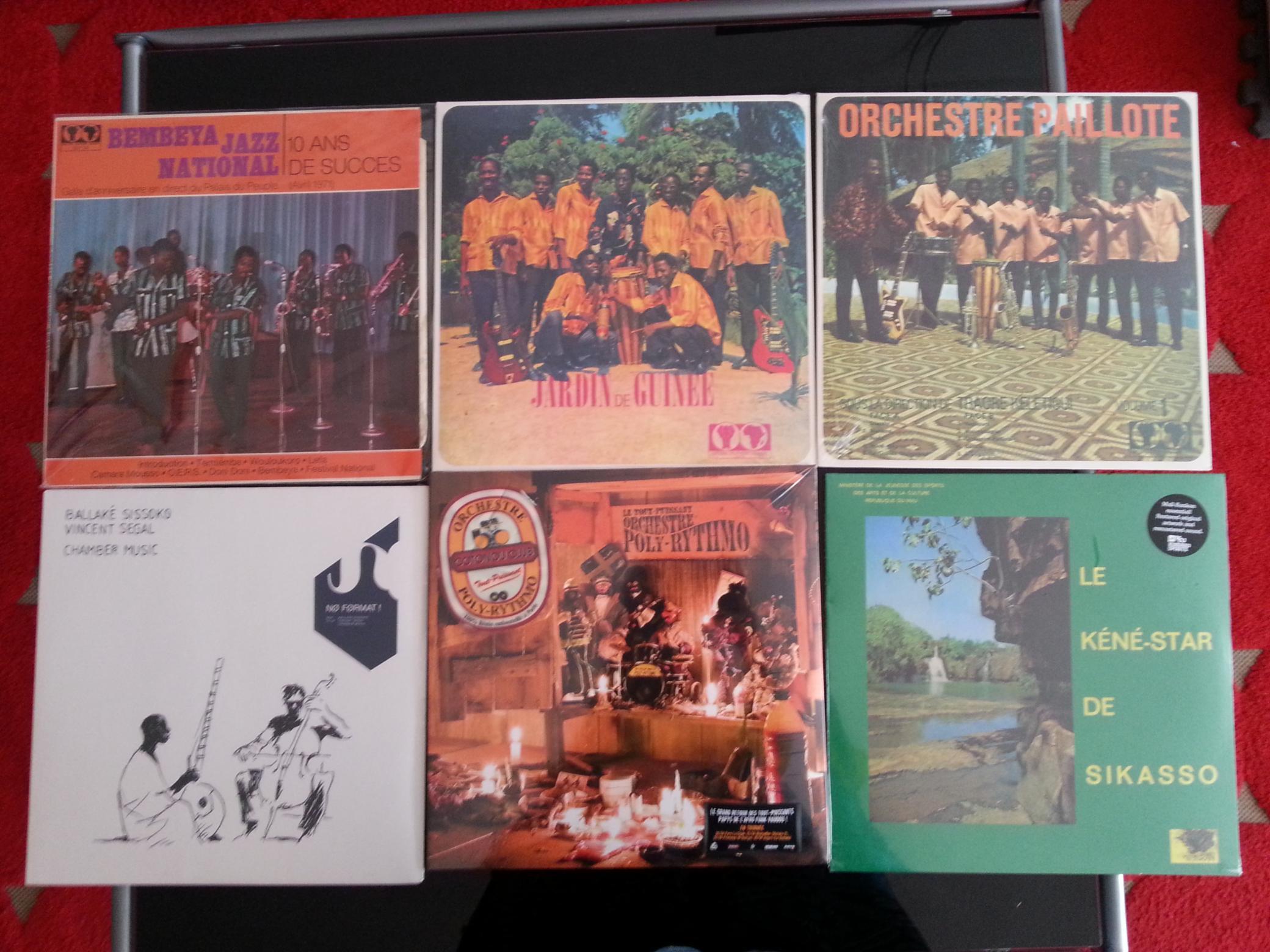 vinyles africains