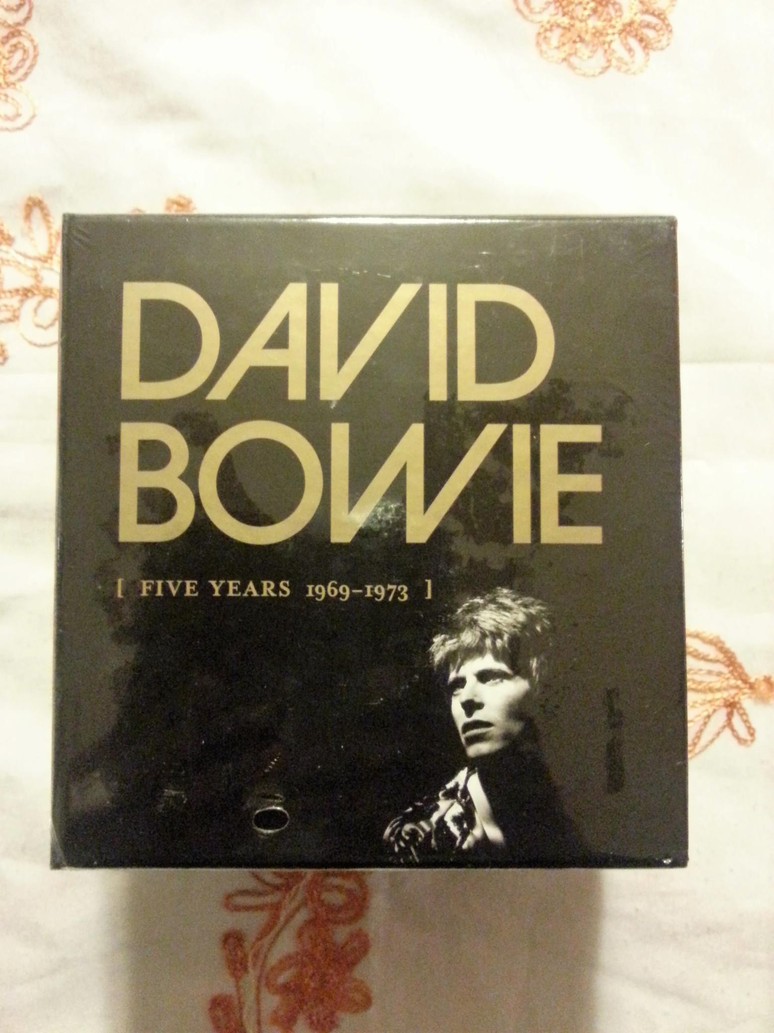 COFFRET CD DAVID BOWIE