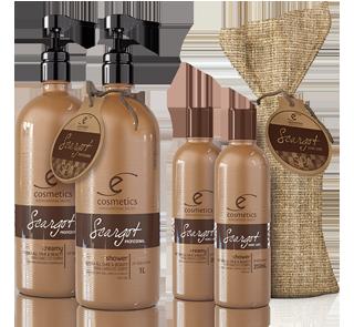 Gamme shampoing et après-shampoing pour cheveux et corps (Femme / Homme)