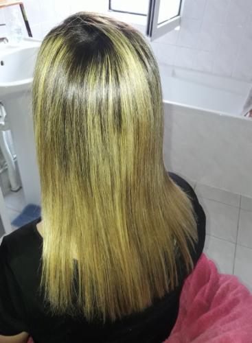 avant et aprés coupe shampoing après-shampoing masque hydratation