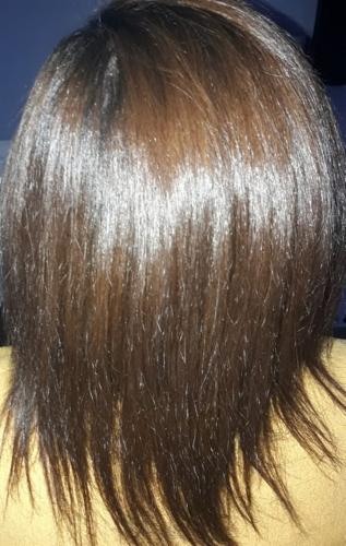 avant et aprés après-shampoing masque hydratation naturel bio