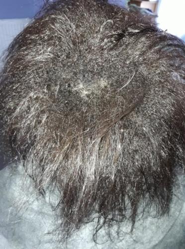 avant et aprés shampoing après-shampoing masque hydratation naturel