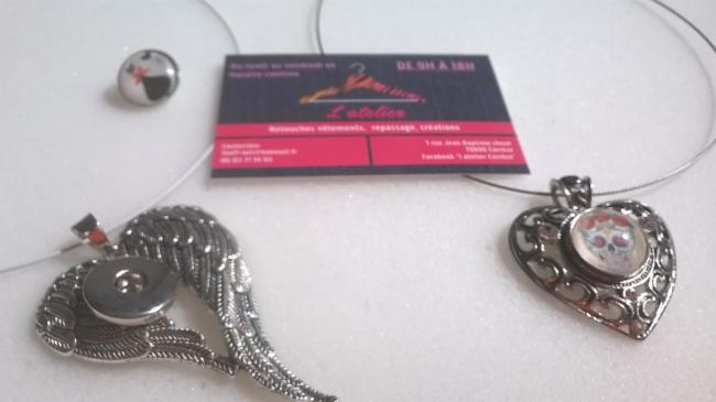 l atelier de correze Correze creations bijoux, retouches couture toutes retouches vetements creations bijoux, retouches couture