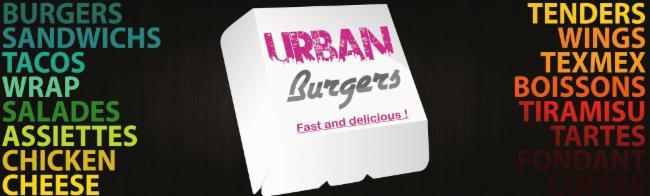 URBAN Burgers Villefranche chicken pané Tacos Restauration rapide