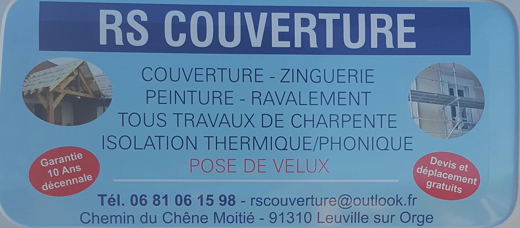 Rscouverture Leuville-Sur-Orge Peintre en bâtiment Etancheur Couvreur