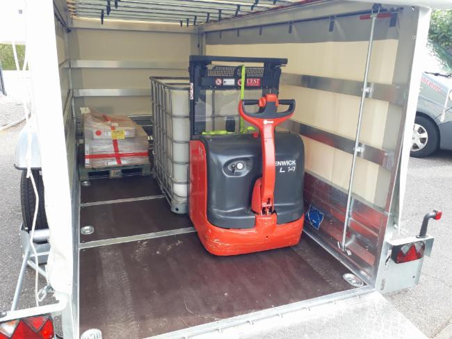 petits terrassements Transports auprès des professionnels et Particuliers Société de transport Transport de marchandise
