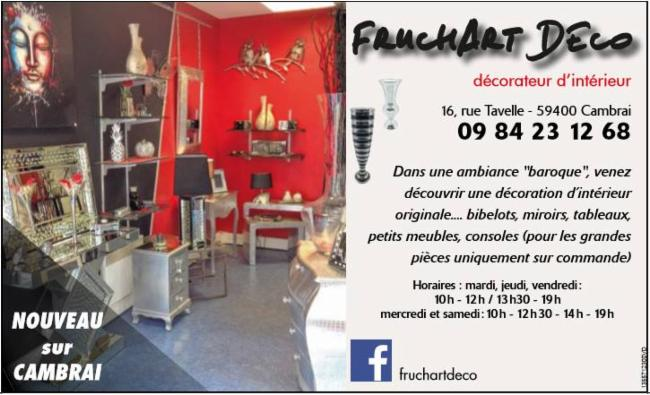 Fruchart Deco Cambrai decoration decorateur d'interieur decoration