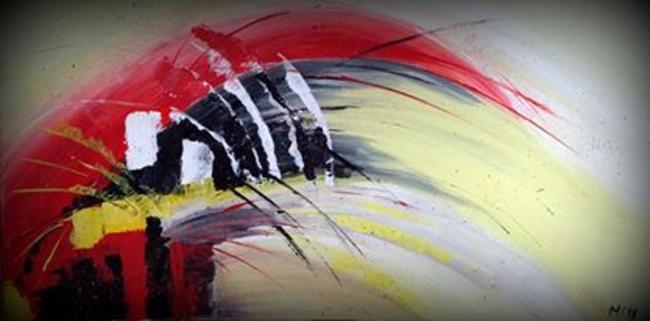 Christine Atelier Passions Pont-Réan Peinture Abstraites Tableaux images 3d Loisirs créatifs
