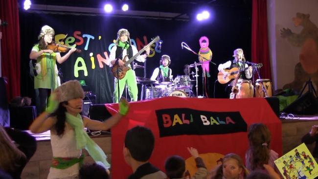 Bali bala , le grand bal des enfants bal pour enfants Octaves Production spectacle musical jeune public