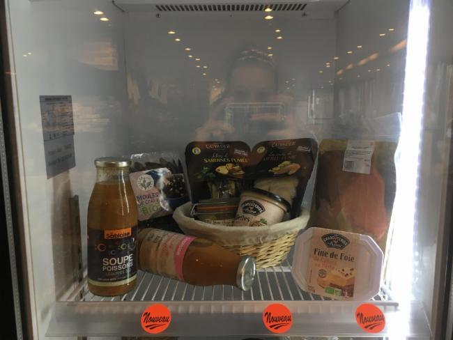 Vitrine produits festifs Rennes Vente de produits biologiques Magasin Bio Vente de produits biologiques