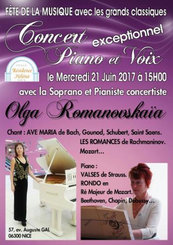 Fête de la musique à Nice Cours particuliers MUSIQUE CLASSIQUE Concert de la musique classique