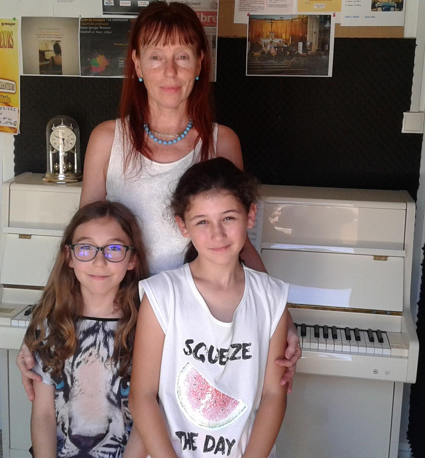 Cours de piano et chant Clérmont L'Hérault Cours particuliers de piano Cours de piano et chant