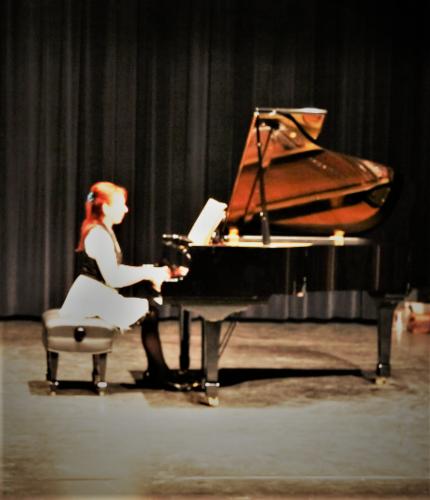Concert le 9 février 2019 Saint Gély de Fesc Salle Brassens Cours de piano et chant