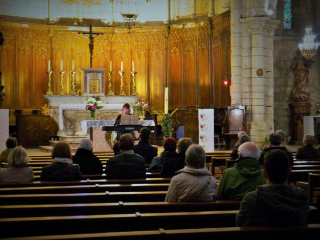 Fête de la musique à l'église St.Gély du Fesc Cours particuliers de piano et de chant