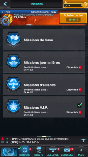 Missions Explications Jeux Explications Jeux Explications