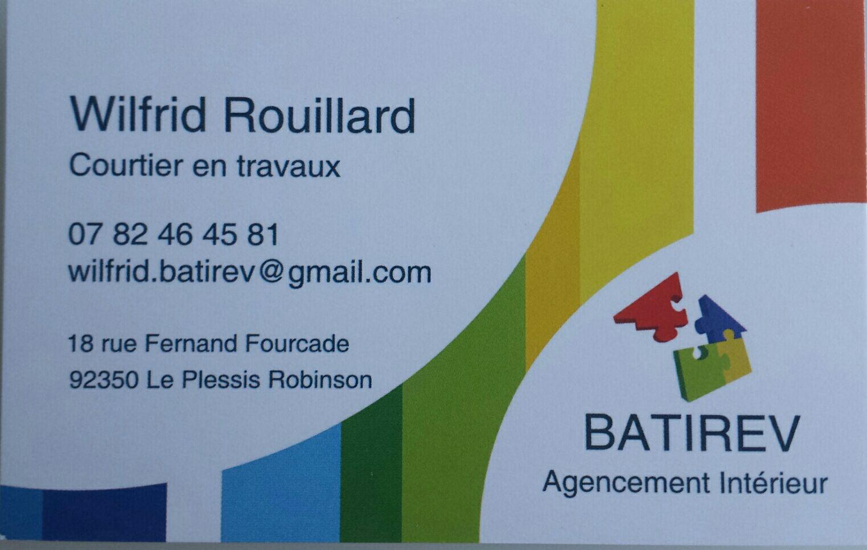 1 BATIREV- Wilfrid Rouillard- Le Plessis Robinson Rénovation Électricité Revêtement sol et murs