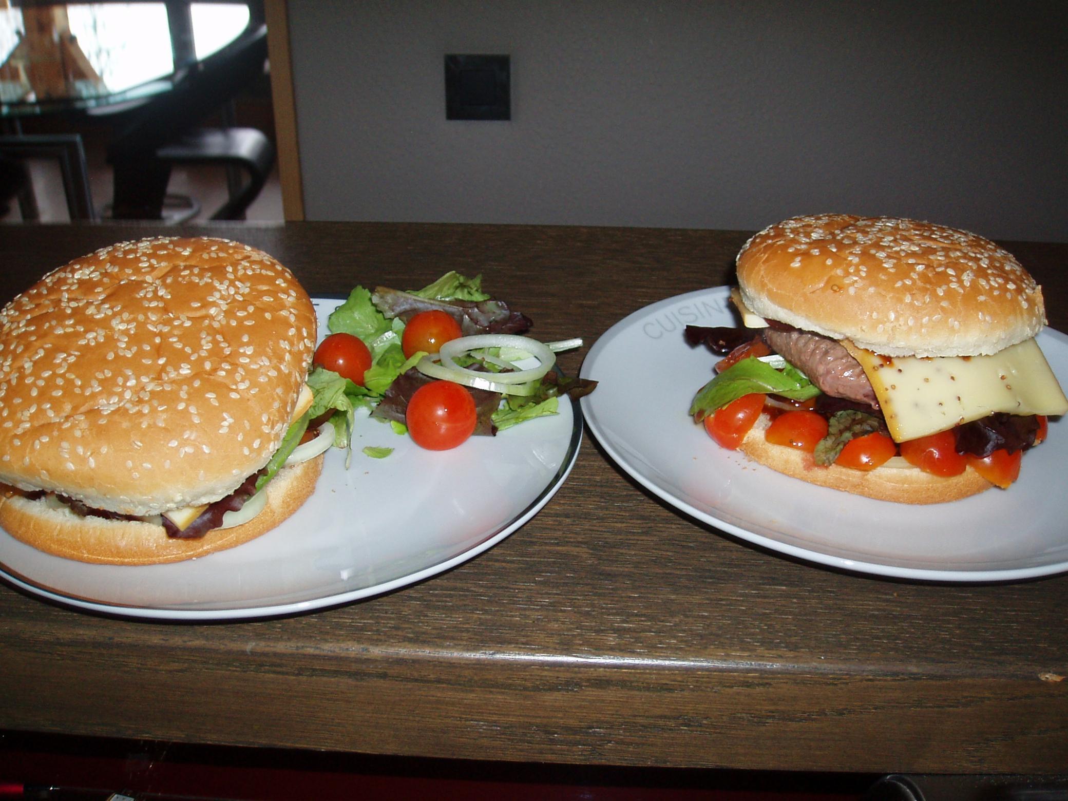 Snack'Oz SALLANCHES Burger Snack Panini