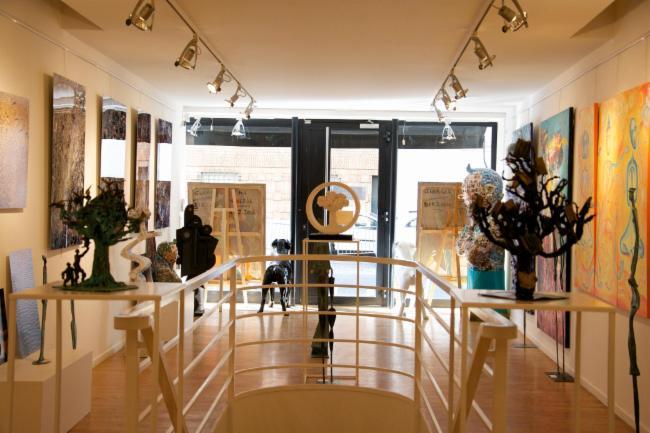 GALERIE SONIA MONTI Paris GALERIE D'ART Location d'espace GALERIE D'ART