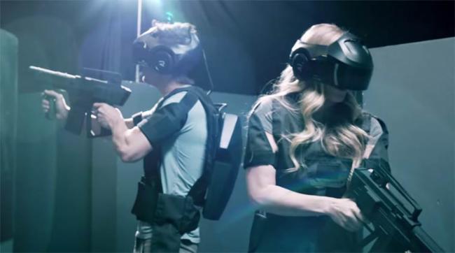 Virtuelle-games53 St Fort Casque Vive Realité virtuelle Jeux en ligne
