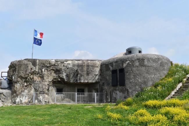 Bloc n°2 Ouvrage de 1889-1892 Séré de Riviére Fort de la Salmagne Secteur.Fortifié de Maubeuge