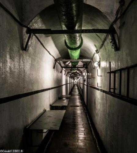 couloir d'une centaine de métres Vieux-Reng Musée et Histoire du secteur fortifié de Maubeuge