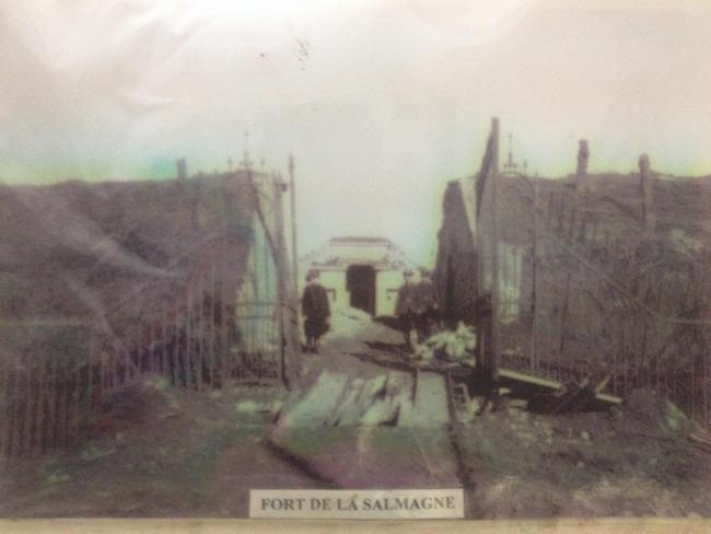 entrée du Fort de 1914 Ouvrage de 1935-1938 type Maginot Musée et Histoire du secteur fortifié de Maubeuge