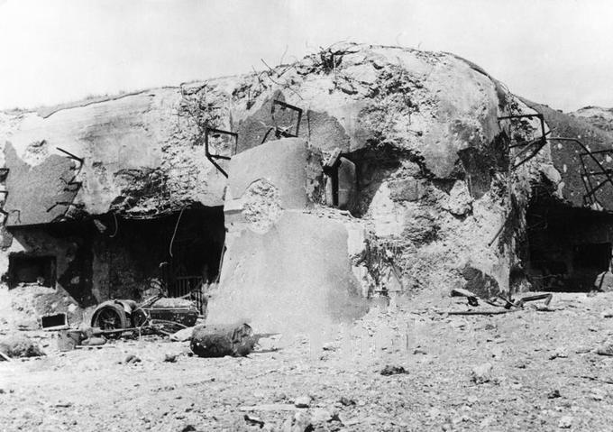 Fort de la Salmagne Secteur.Fortifié de Maubeuge Vieux-Reng Ouvrage de 1935-1938 type Maginot