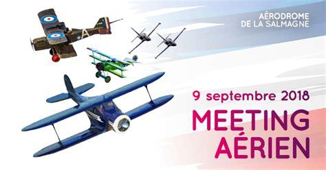 Meeting Aérien aérodrome de la Salmagne ainsi que l'ouverture du Fort de la Salmagne.