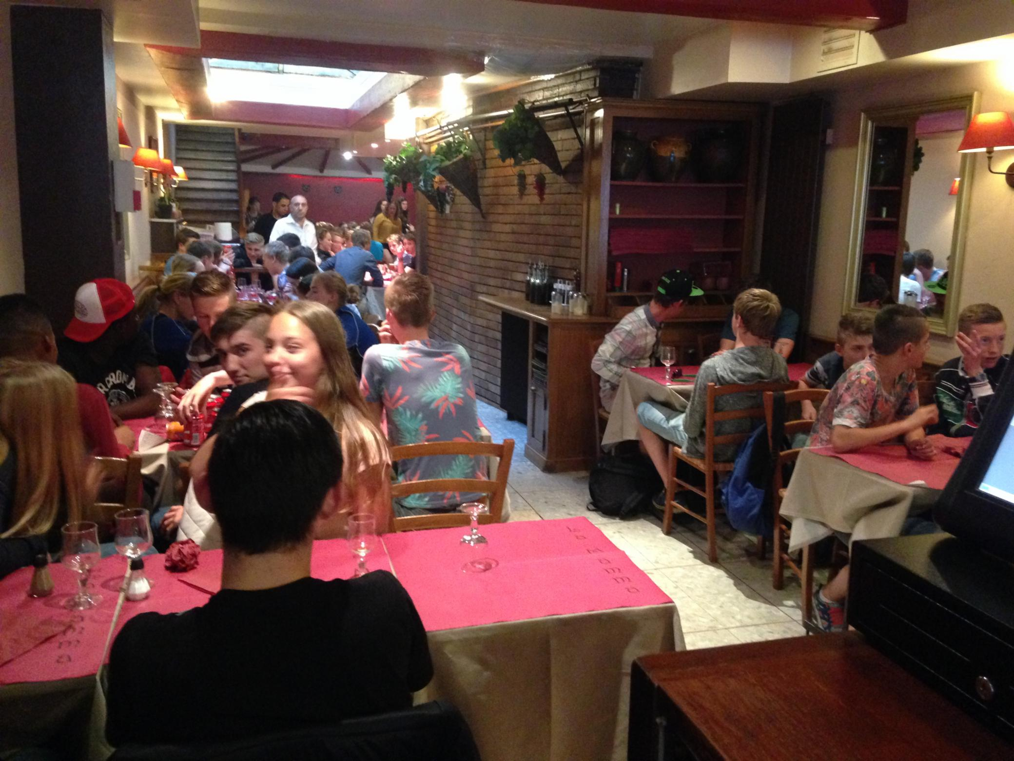 La Mamma Paris Cuisine Italienne Pizzeria Restaurant