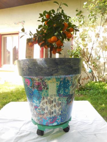 Pots céramique, plastique déco décoration de meubles, relooking décoration de meubles, relooking décoration de meubles, relooking