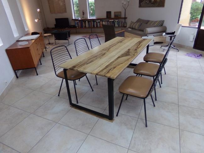Table de salon Création de mobilier sur mesure et unique GILA création Création de mobilier sur mesure et unique