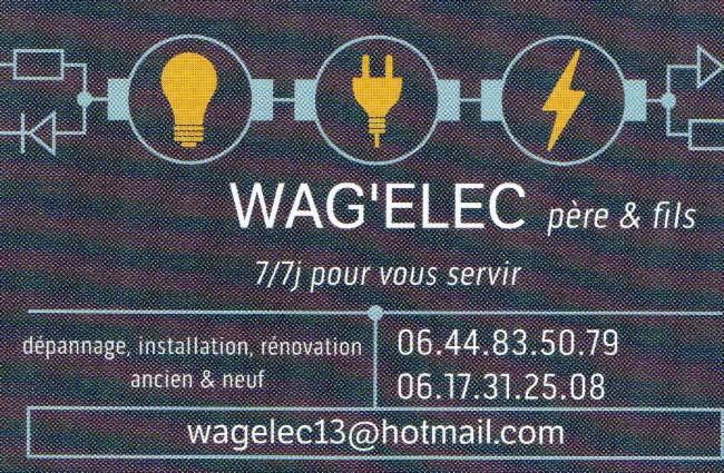 WAGELEC Arles Electricien Électricité Electricien