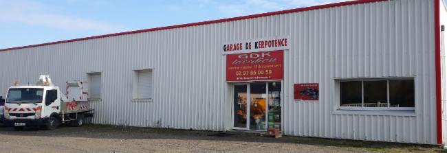 GARAGE DE KERPOTENCE HENNEBONT LOCATION REPARATION ET LOCATION DE MATERIEL BTP ET ESPACE VERT