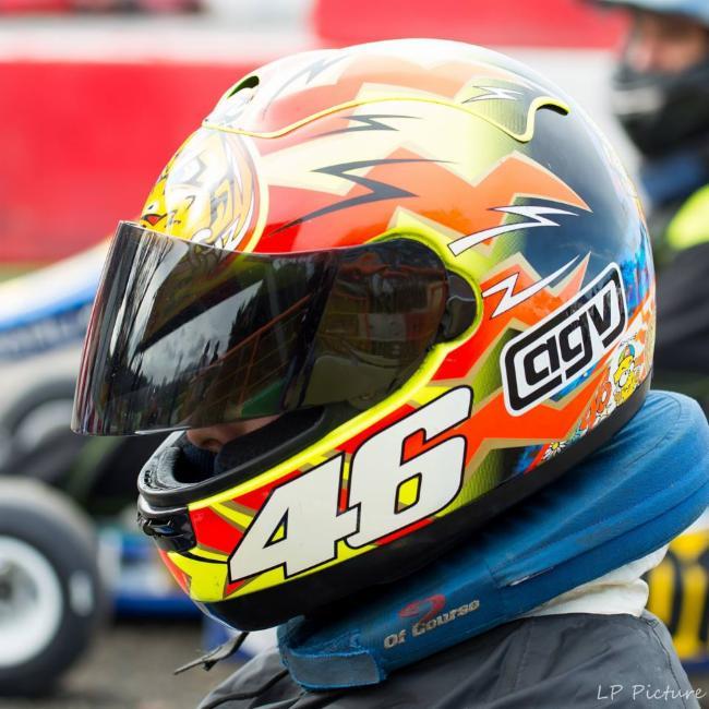 Team Large Pilote PIlote de Karting Pilote